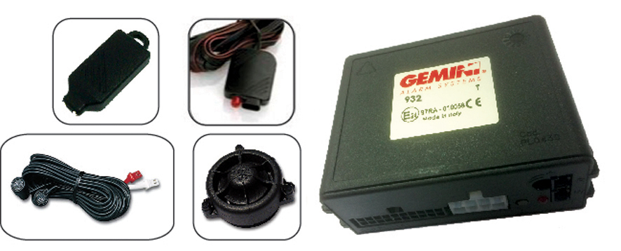 AVS Gemini 932 CAN BUS REMOTE ALARM UPGRADE SYSTEM